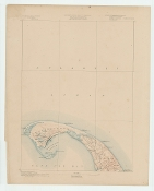 Topographic Map of  Provincetown MA 1887